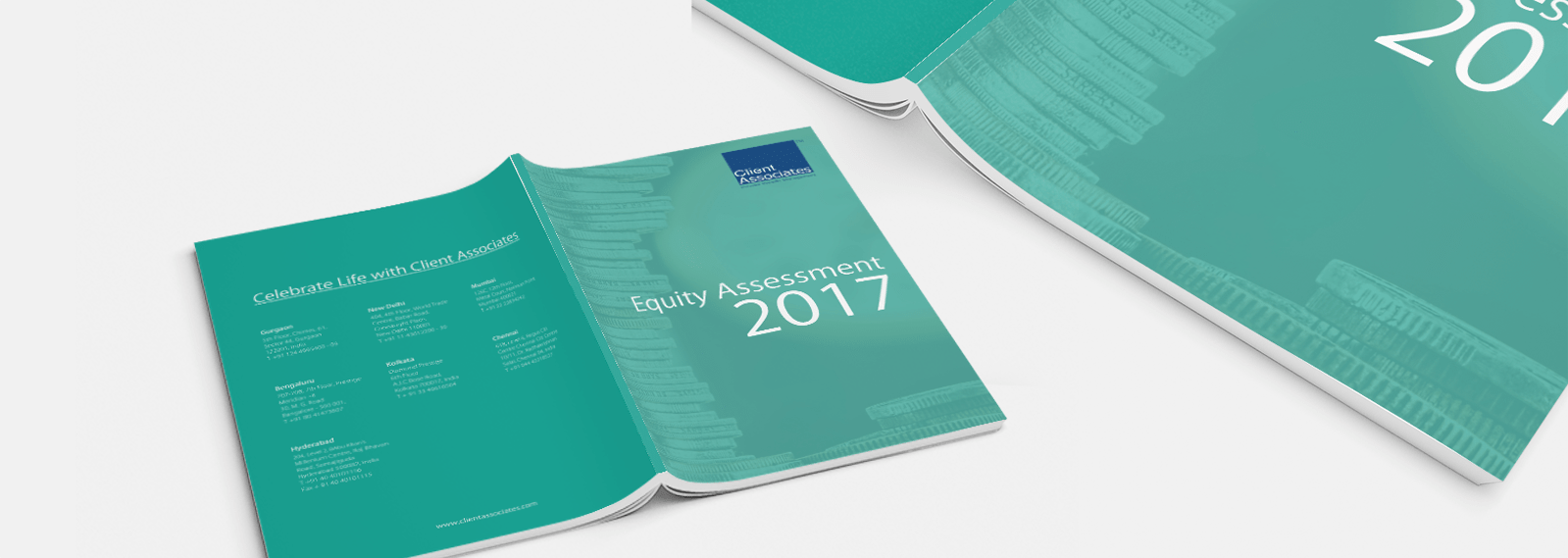 Annual Report Design for Client Associates