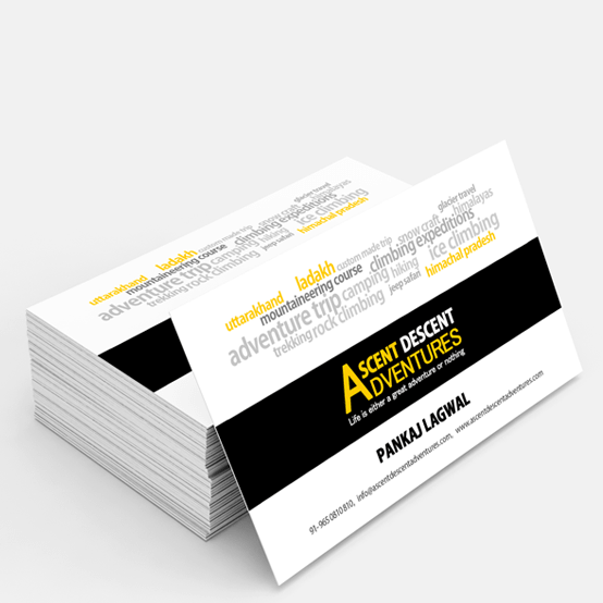 Business Card Design, Delhi