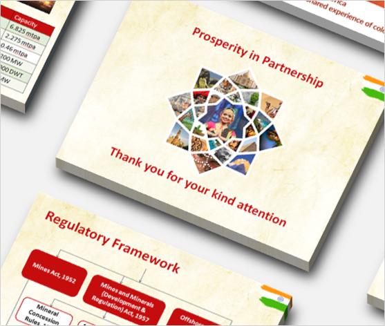 Powerpoint presentation for India Mining Indaba 2015