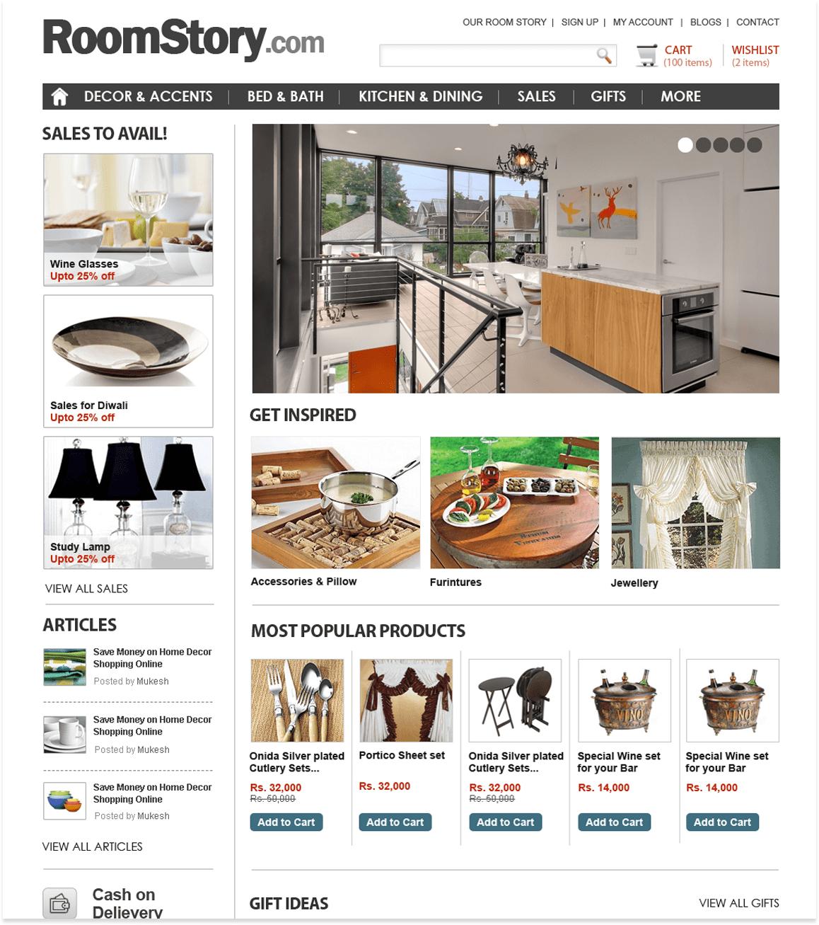 E Commerce Website Design Shopify Magento Development