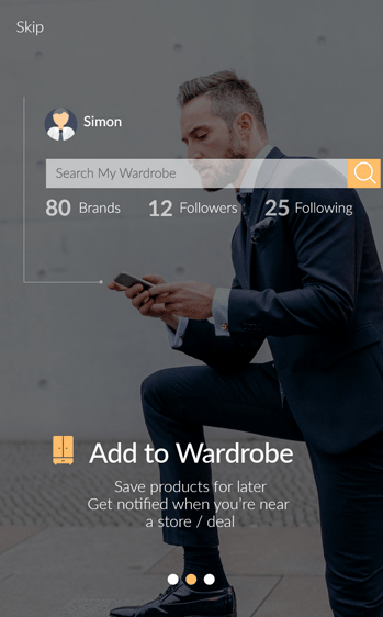 Wherewolf: User Experience Design for Mobile App