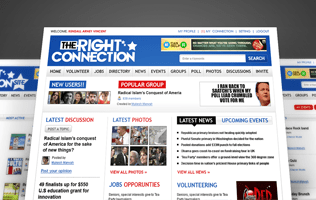 The Right Connection Site: Social Networking website design and development